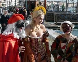 Carnavalul de la Venetia.