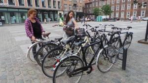 Cu bicicleta prin Copenhaga.