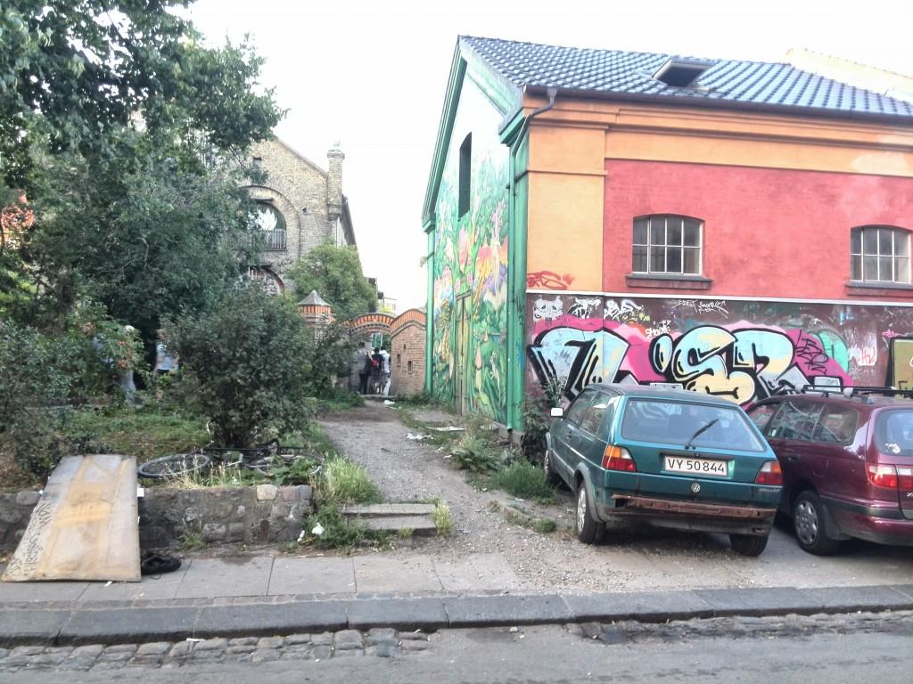 Intrarea în Christiania