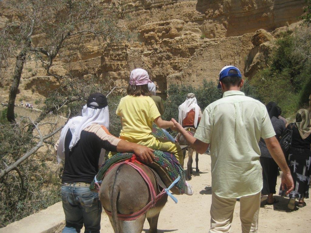 In drumul de intoarcere de la Manastirea Hozeva