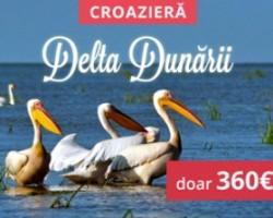 Croaziera unica in paradisul Deltei Dunarii