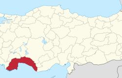 As pleca in Antalya