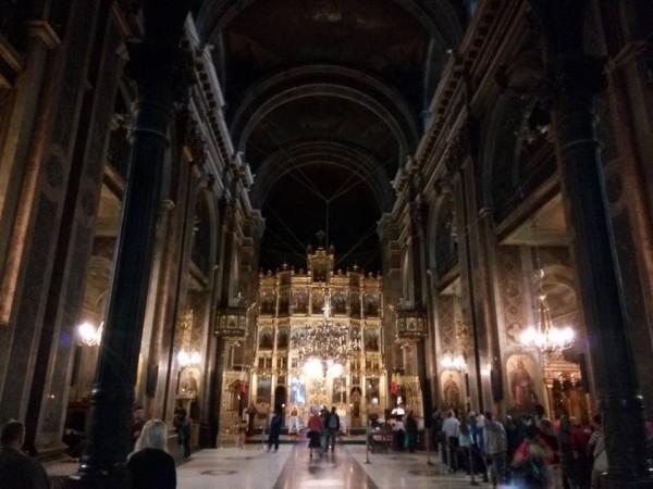 interiorul Catedralei