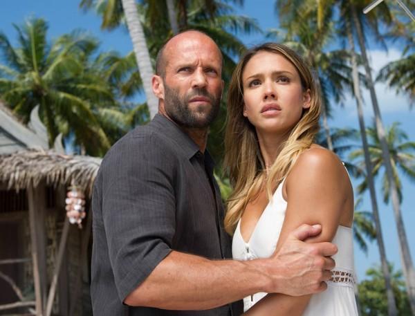 Jason Statham si Jessica Alba