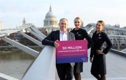 Reduceri la Wizz Air pentru Marea Britanie