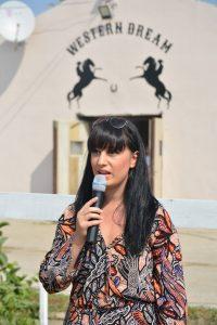 Prezentatoarea evenimentului Florina Ioanid