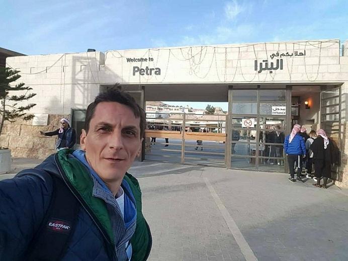 intrare in Petra