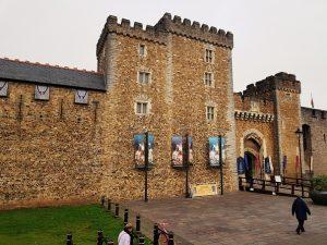 intrare castel