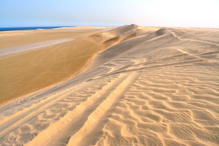 desert in qatar