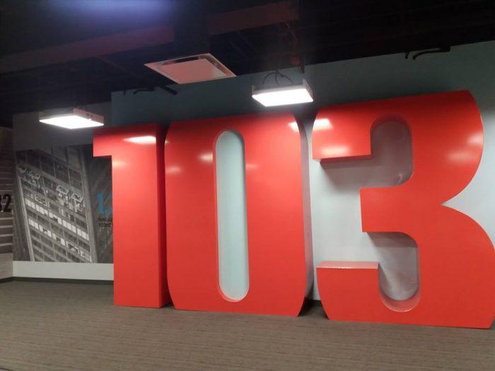 etajul 103 unde este skydeck