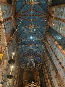 interior biserica cracovia