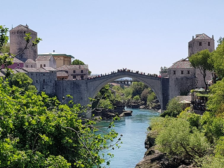 podul vechi azi