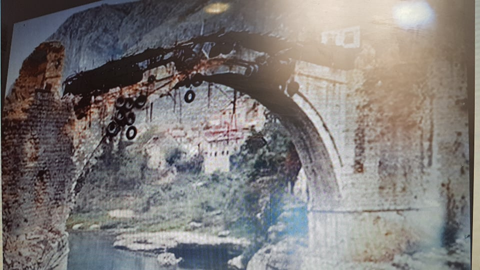 podul vechi in timpul razboiului