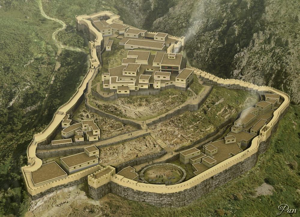 cetatea micene