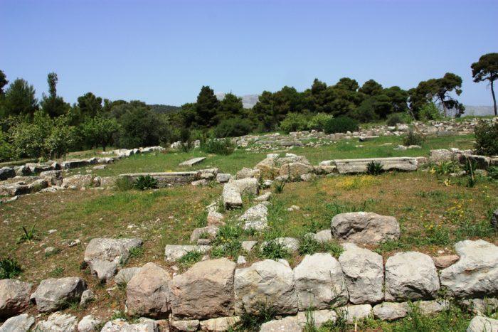 ruine templu epidauros