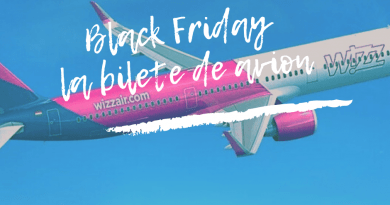Black Friday la bilete de avion