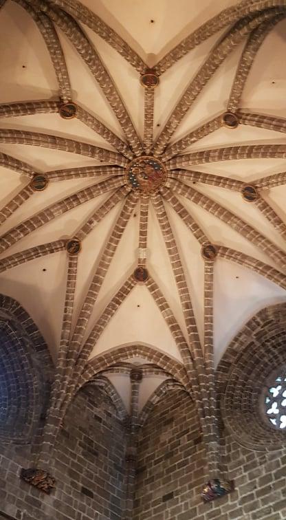 coloanele domului catedralei din valencia