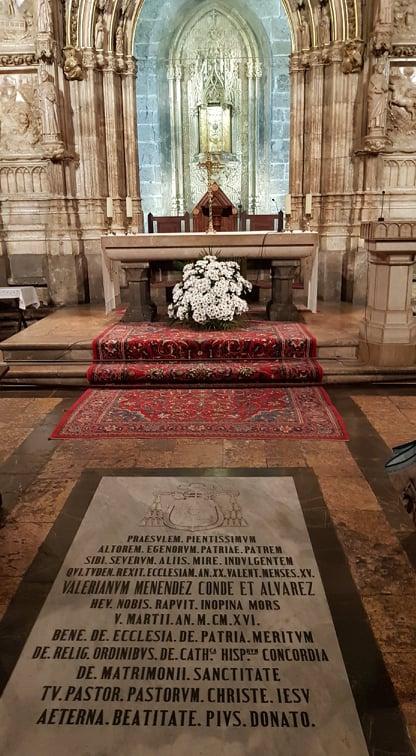 marele altar de la catedrala din valencia