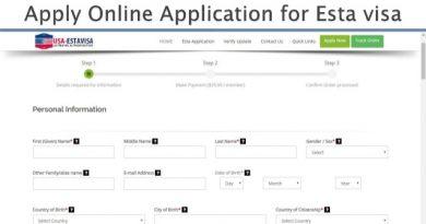 online-esta-visa-application-form